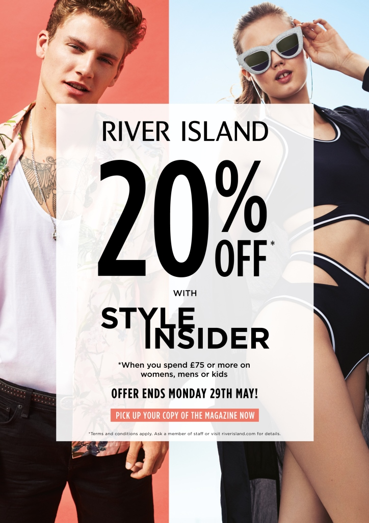 20% Off Orders for a Friend with Friend Referrals at River Island from dalmanco.ml For every friend you refer they get 20% off and you'll get a River Island discount of £10 off too!
